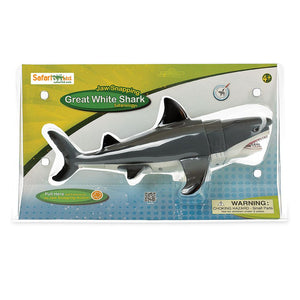 352240-Jaw Snapping Great White Shark