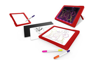 Glow Pad Widescreen Red