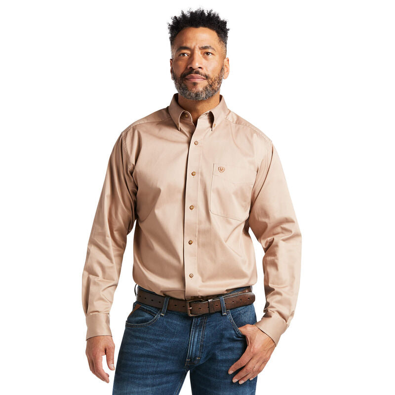Ariat® Men's Solid Twill Classic Fit Shirt - CWesternwear