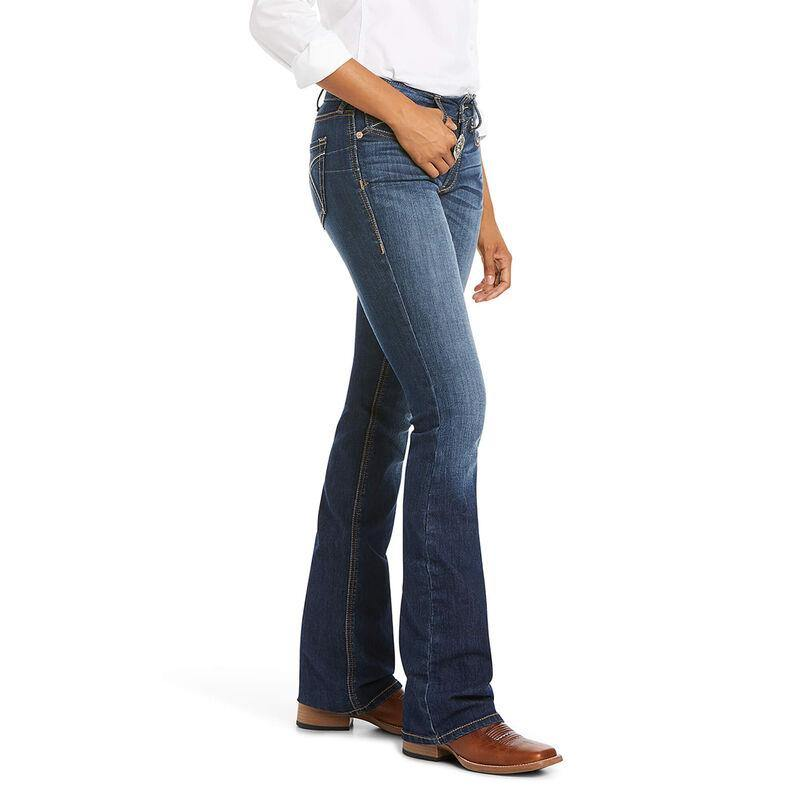 Womens Ariat R.E.A.L. Perfect Rise Stretch Rosa Boot Cut Jean