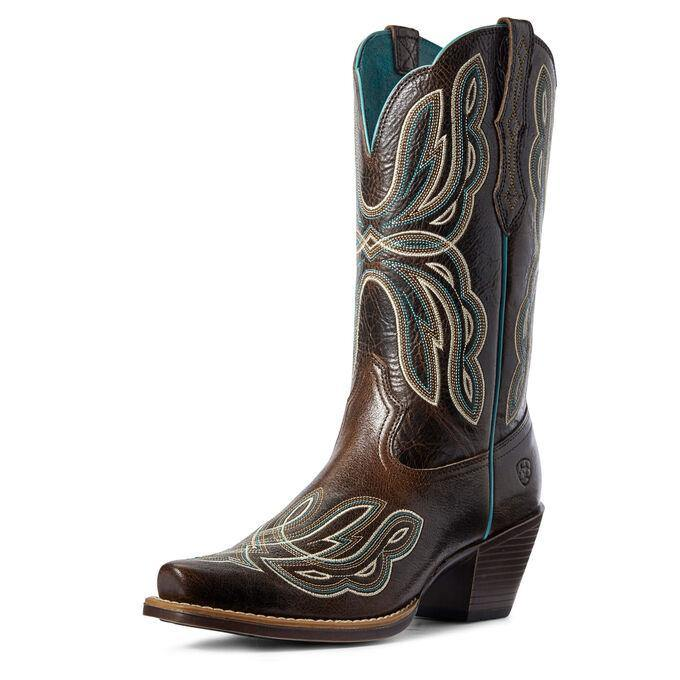 Ariat Women's Mirabelle Western Boot Chocolate Chip - CWesternwear