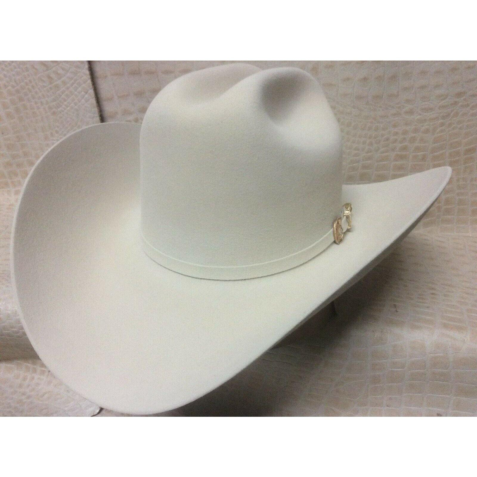 New Mens Larry Mahans Cruz de Oro Belly 30X Beaver Fur Felt Western Cowboy Hat - CWesternwear