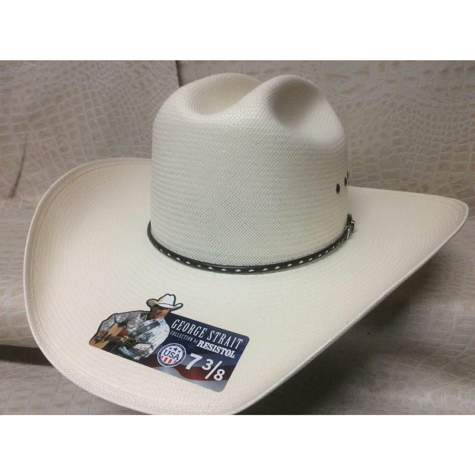 Resistol Alpha 10X George Strait Collection  Rodeo Western Cowboy Straw Hat - CWesternwear