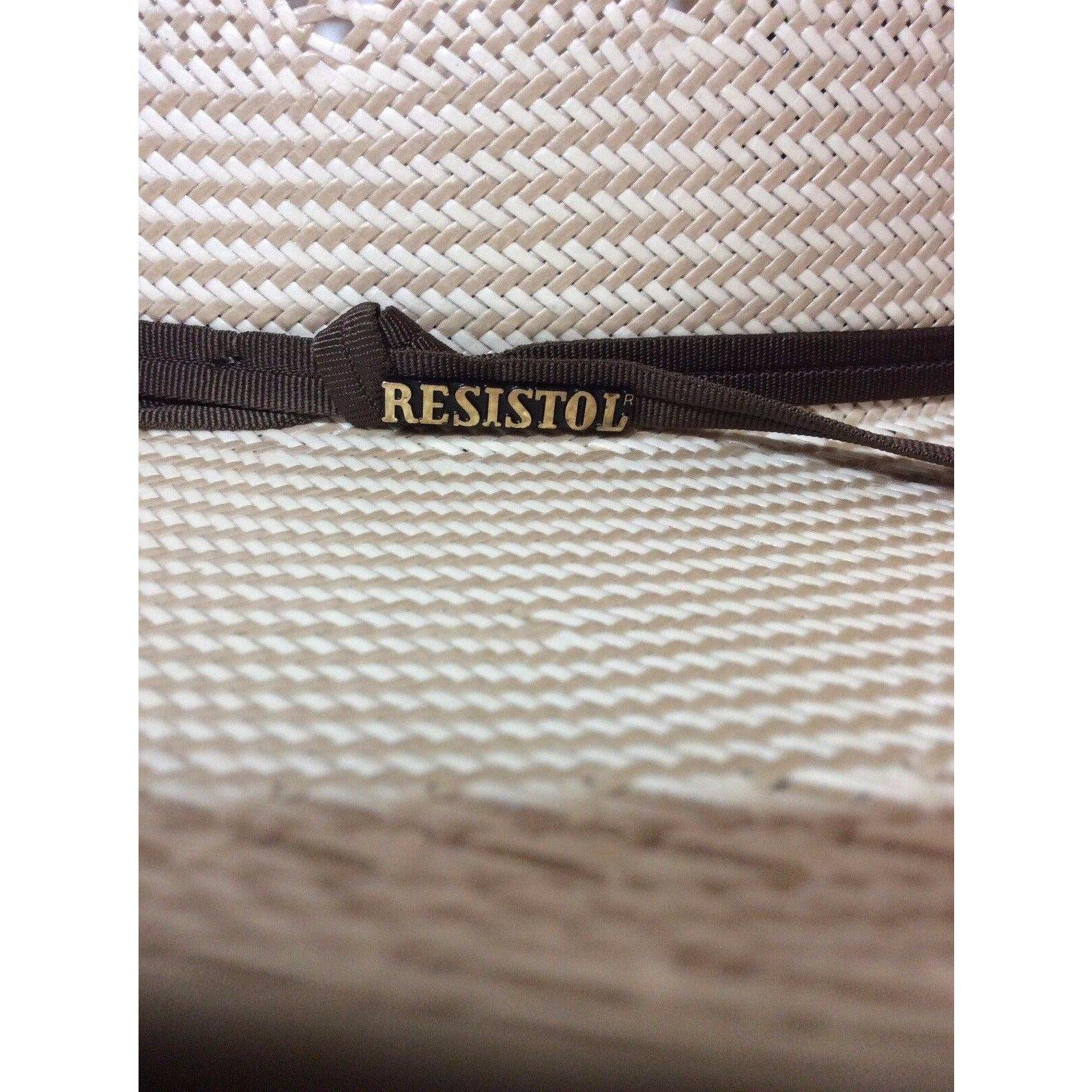 Resistol 20x Conley Rodeo Western Cowboy Stetson Tan Ivory Natural Straw Hat - CWesternwear