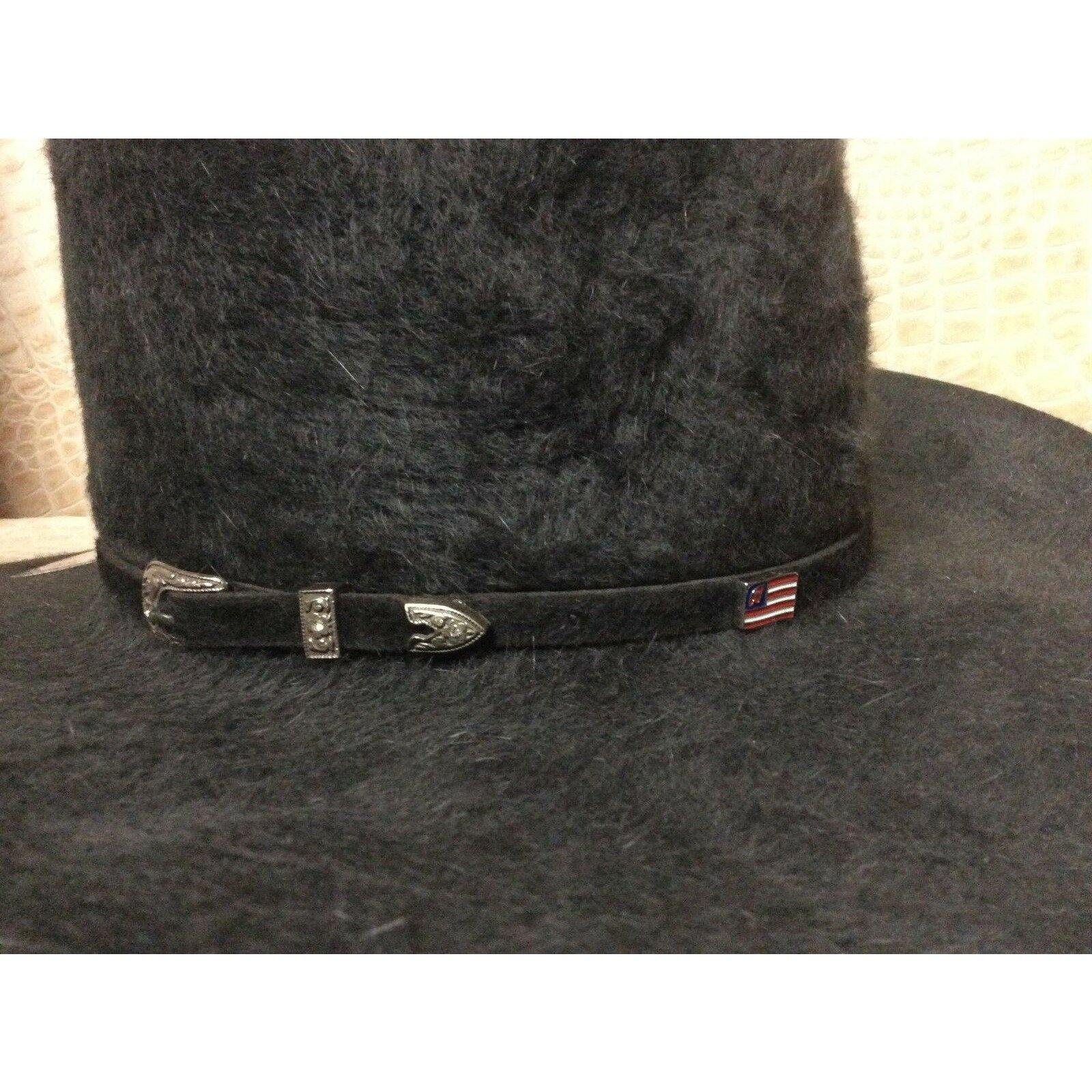 American Hat Co. Grizzly 20X Long Hair Beaver Fur Felt Cowboy Hat Western Rodeo - CWesternwear