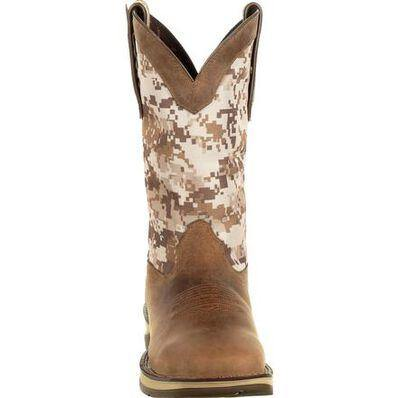 MENS REBEL™ BY DURANGO® DESERT CAMO PULL-ON WESTERN BOOT - CWesternwear