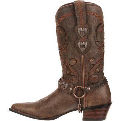 CRUSH™ BY DURANGO® WOMEN'S BROWN HEARTBREAKER BOOT - CWesternwear