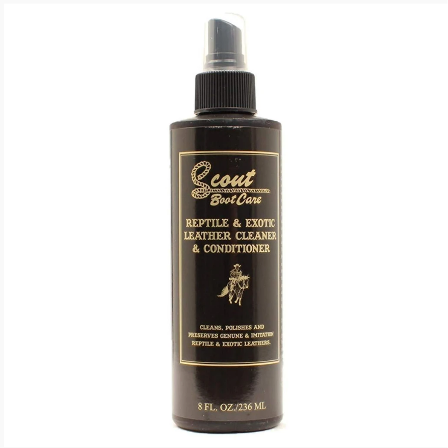 Scout Reptile & Exotic Leather Cleaner & Conditioner Spray - CWesternwear