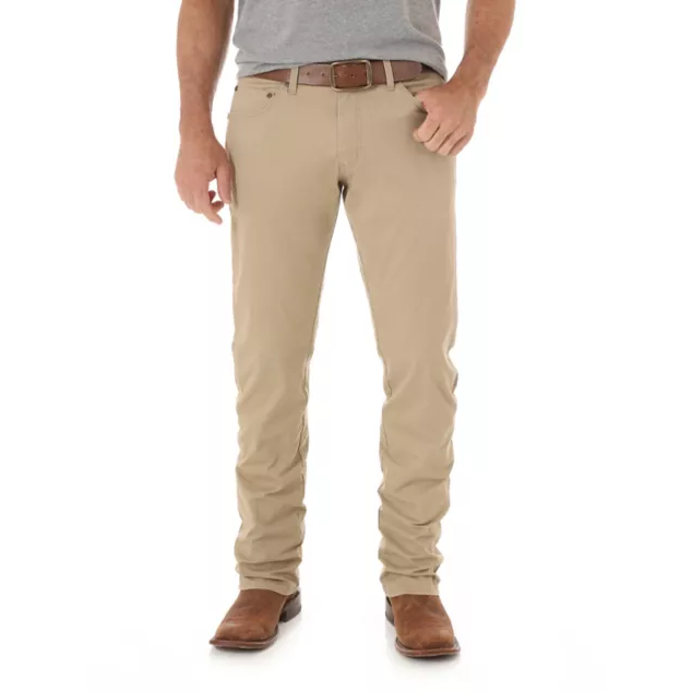 MEN'S WRANGLER RETRO® SLIM FIT STRAIGHT LEG PANT IN FAWN