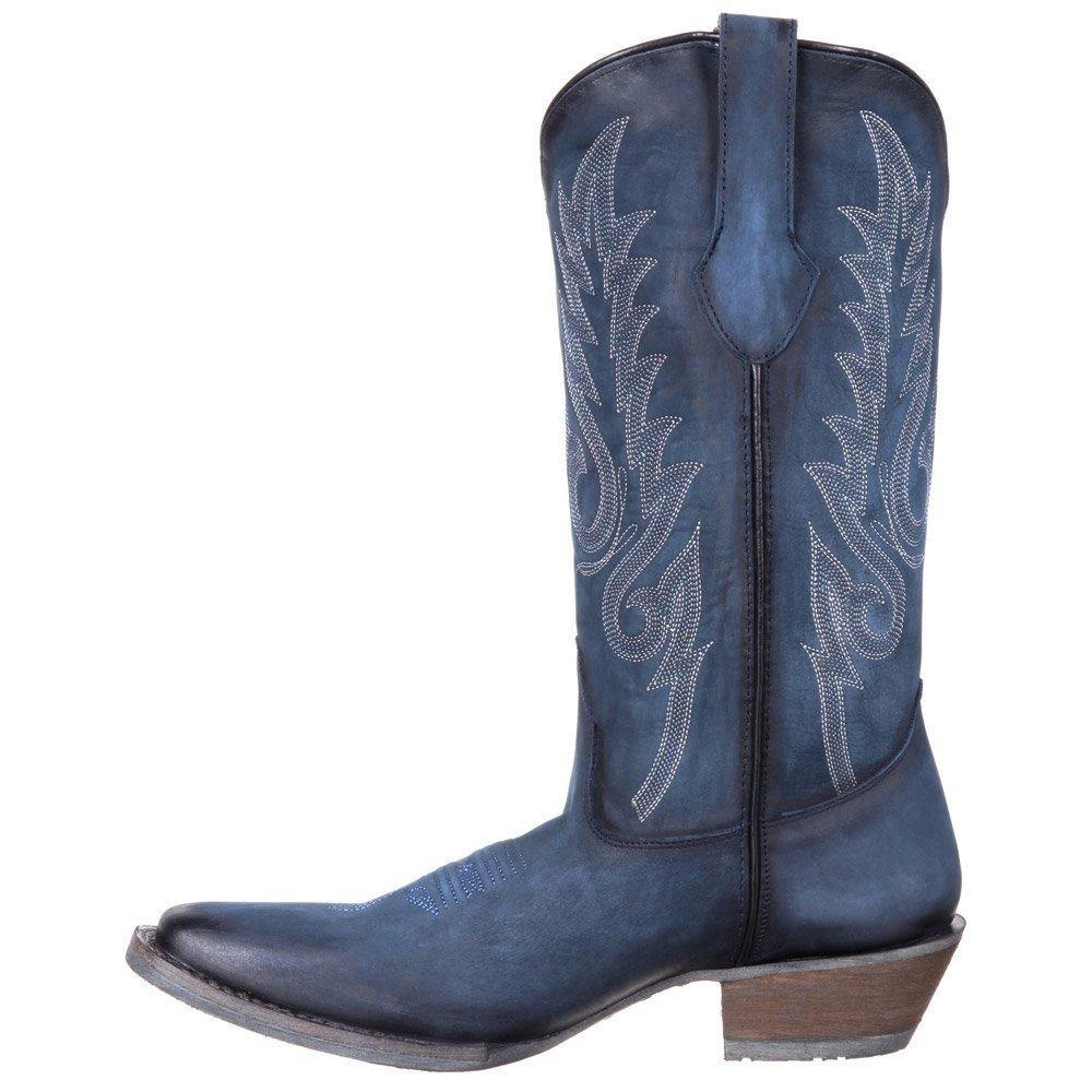 Durango Dream Catcher Women's 12 Inch Vintage Denim Western Boot - CWesternwear