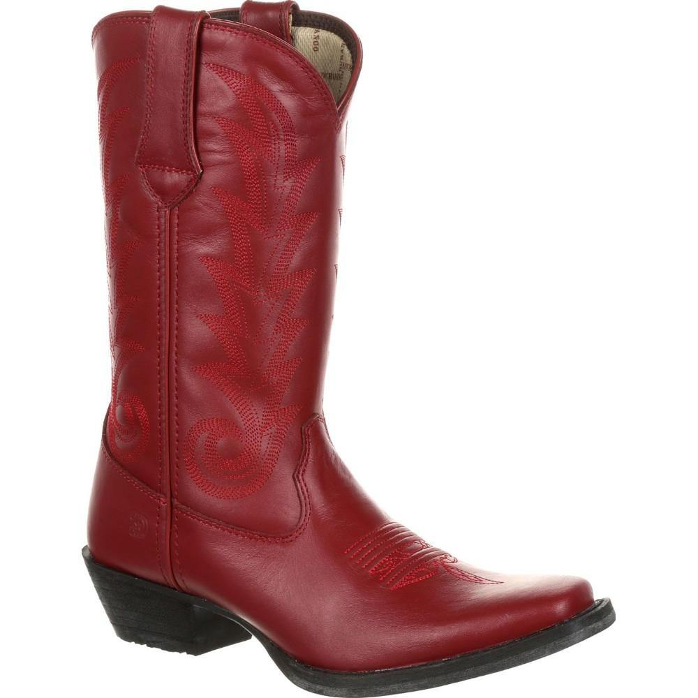 Durango Women's 11 Inch Red Leather Western Boot - CWesternwear