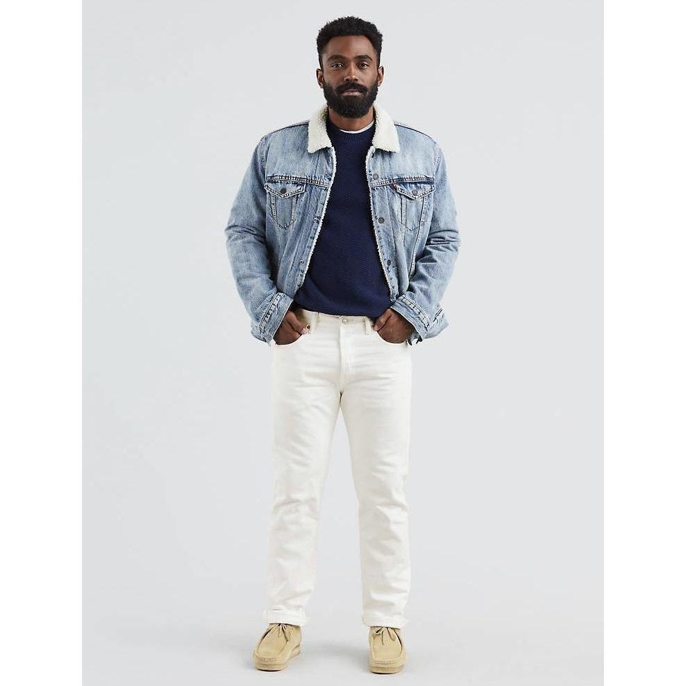 LEVI'S 501® ORIGINAL FIT MEN'S WHITE JEANS