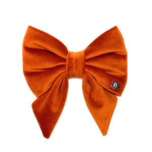 Rust Velvet - Sailor Bow - BillyBCollective