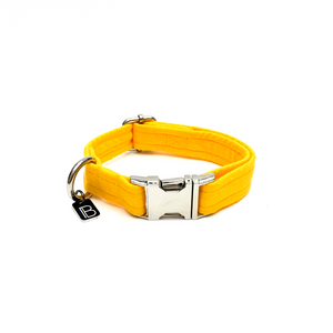 Yellow Linen - Set (Collar & Lead) - BillyBCollective