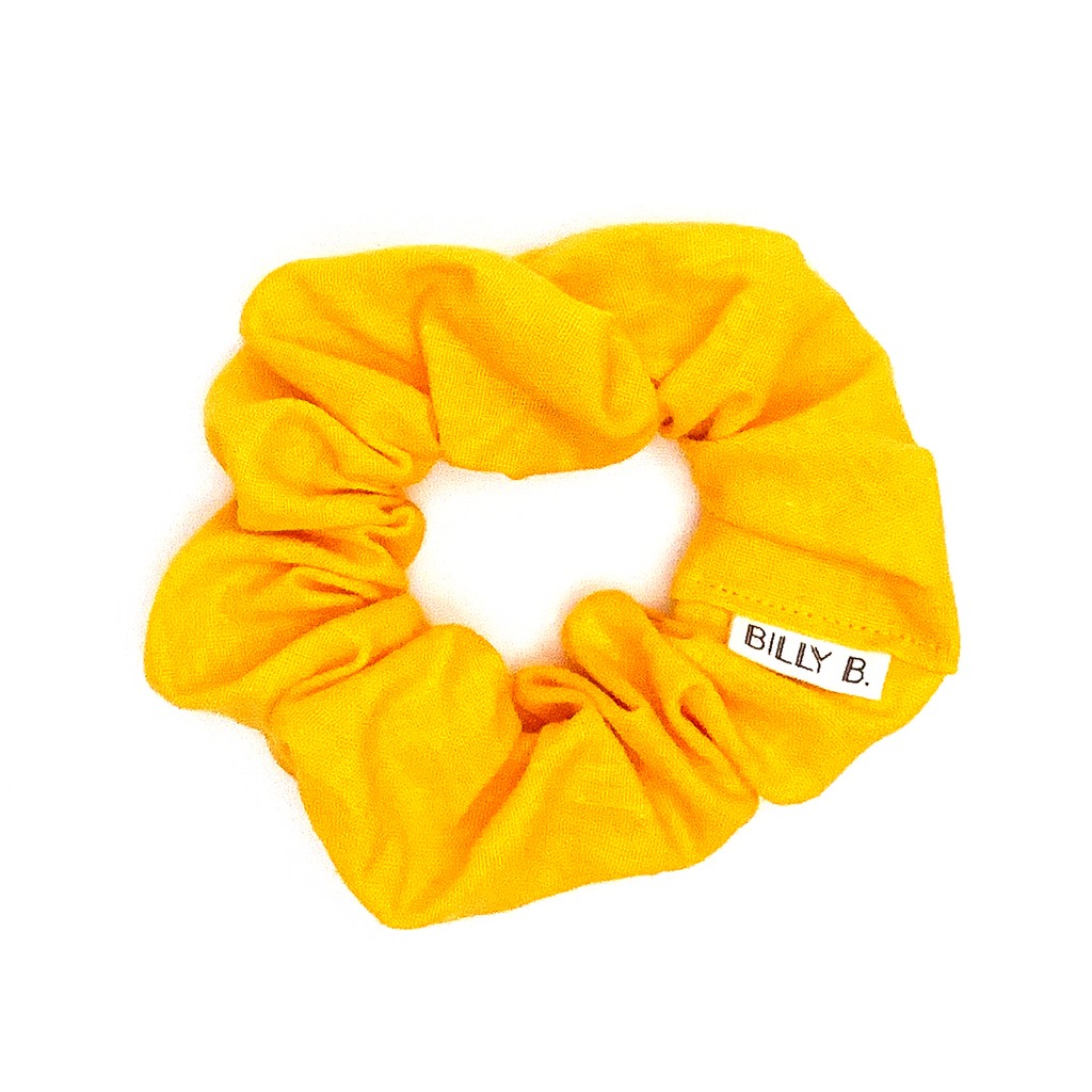 Yellow Linen - Scrunchie - BillyBCollective