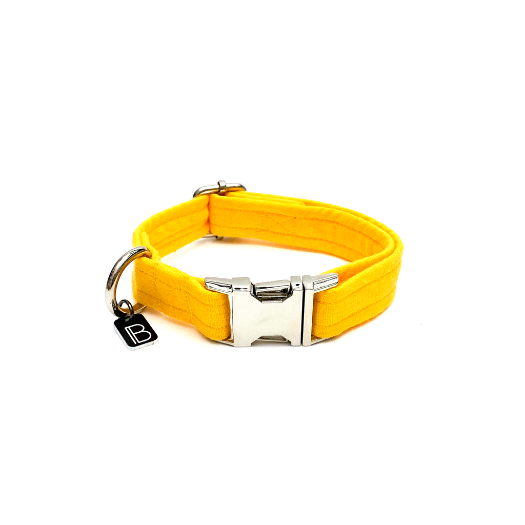 Yellow Linen - Collar - BillyBCollective