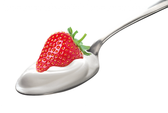 Greek Strawberry Yogurt