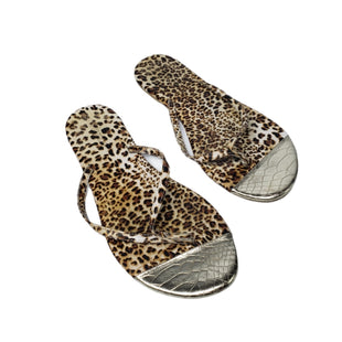 Primary Photo - BRAND: CALVIN KLEIN STYLE: FLIP FLOPS COLOR: ANIMAL PRINT SIZE: 11 SKU: 299-29950-11812