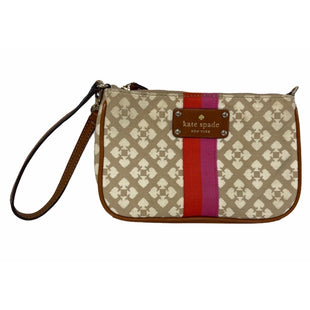 Primary Photo - BRAND: KATE SPADE STYLE: WRISTLET COLOR: MONOGRAM SKU: 299-29929-59120