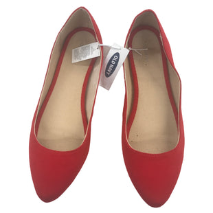 Primary Photo - BRAND: OLD NAVY STYLE: SHOES FLATS COLOR: RED SIZE: 10 OTHER INFO: NEW! SKU: 299-29950-11746