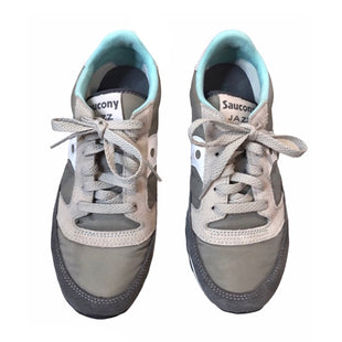 Primary Photo - BRAND: SAUCONY STYLE: SHOES ATHLETIC COLOR: GREY SIZE: 7.5 SKU: 299-29950-11332