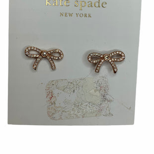 Primary Photo - BRAND: KATE SPADE STYLE: EARRINGS COLOR: GOLD OTHER INFO: NEW SKU: 299-29974-1553
