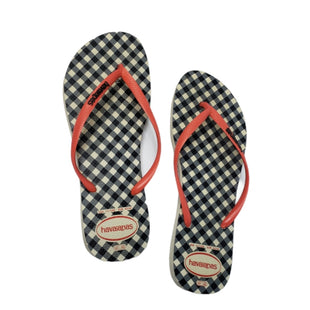 Primary Photo - BRAND: HAVAIANAS STYLE: FLIP FLOPS COLOR: CHECKED SIZE: 11 SKU: 299-29950-11811