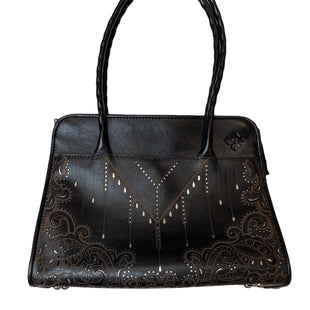 Primary Photo - BRAND: PATRICIA NASH STYLE: HANDBAG DESIGNER COLOR: BLACK SIZE: LARGE SKU: 299-29929-55031