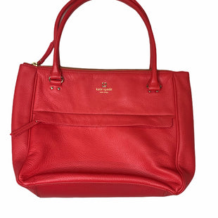 Primary Photo - BRAND: KATE SPADE STYLE: HANDBAG DESIGNER COLOR: CORAL SIZE: LARGE SKU: 299-29911-25322