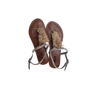 Primary Photo - BRAND: CARLOS SANTANA STYLE: SANDALS LOW COLOR: MULTI SIZE: 7 SKU: 299-29929-56745