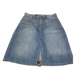Primary Photo - BRAND: MADEWELL STYLE: SKIRT COLOR: DENIM SIZE: 2 SKU: 299-29950-10378