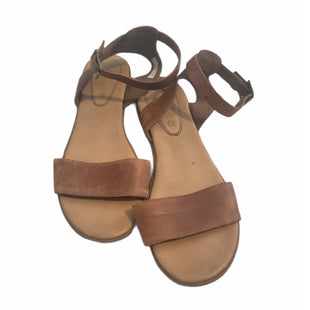 Primary Photo - BRAND: TIMBERLAND STYLE: SANDALS LOW COLOR: BROWN SIZE: 8 SKU: 299-29987-463