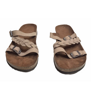 Primary Photo - BRAND: STONE MOUNTAIN STYLE: SANDALS FLAT COLOR: TAN SIZE: 11 SKU: 299-29950-11097