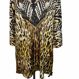 Primary Photo - BRAND: CHICOS STYLE: TUNIC SHORT SLEEVE COLOR: ANIMAL PRINT SIZE: S OTHER INFO: NEW! SKU: 299-29929-47666