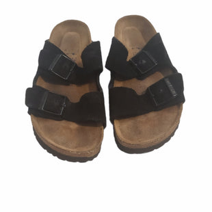Primary Photo - BRAND: BIRKENSTOCK STYLE: SANDALS LOW COLOR: BLACK SIZE: 8.5 SKU: 299-29929-60295