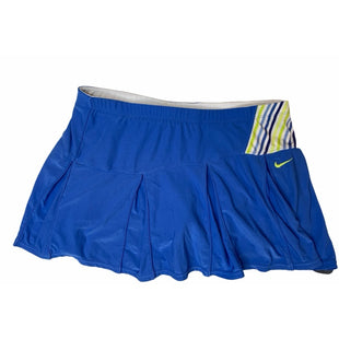 Primary Photo - BRAND: NIKE APPAREL STYLE: ATHLETIC SKIRT SKORT COLOR: BLUE SIZE: M SKU: 299-29911-25302