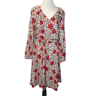 Primary Photo - BRAND: OLD NAVY STYLE: DRESS SHORT LONG SLEEVE COLOR: FLORAL SIZE: M SKU: 299-29950-7736