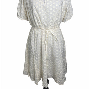 Primary Photo - BRAND: MADEWELL STYLE: DRESS SHORT SHORT SLEEVE COLOR: WHITE SIZE: 6 SKU: 299-29950-10368