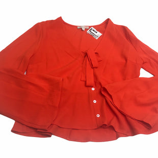 Primary Photo - BRAND: GIANNI BINI STYLE: TOP LONG SLEEVE COLOR: ORANGE SIZE: M SKU: 299-29929-55954