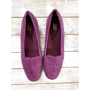 Primary Photo - BRAND: CLARKS STYLE: SHOES FLATS COLOR: RASPBERRY SIZE: 8 SKU: 299-29950-6900
