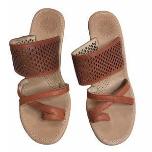 Primary Photo - BRAND: UGG STYLE: SANDALS HIGH COLOR: CAMEL SIZE: 6 SKU: 299-29929-58204
