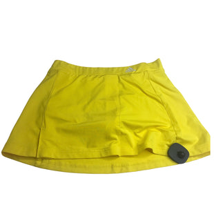 Primary Photo - BRAND: ADIDAS STYLE: ATHLETIC SKIRT SKORT COLOR: YELLOW SIZE: S SKU: 299-29929-50603