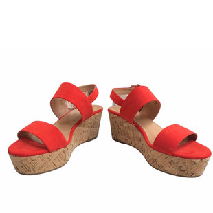 Primary Photo - BRAND: XAPPEAL STYLE: SANDALS HIGH COLOR: ORANGE SIZE: 9 SKU: 299-29987-322