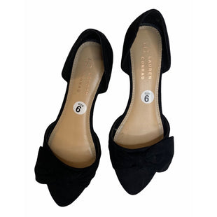 Primary Photo - BRAND: LAUREN CONRAD STYLE: SHOES FLATS COLOR: BLACK SIZE: 6 SKU: 299-29929-53685