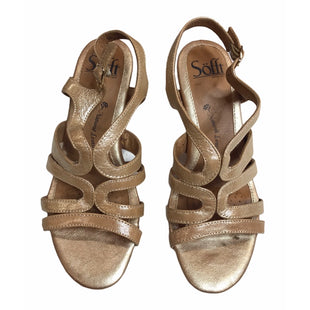 Primary Photo - BRAND: SOFFT STYLE: SANDALS HIGH COLOR: GOLD SIZE: 6 SKU: 299-29929-58202