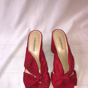 Primary Photo - BRAND: LANE BRYANT STYLE: SHOES HIGH HEEL COLOR: RED SIZE: 10 SKU: 299-29968-464
