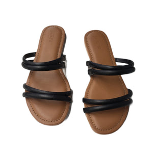 Primary Photo - BRAND: J CREW O STYLE: FLIP FLOPS COLOR: BLACK SIZE: 8 SKU: 299-29929-59733