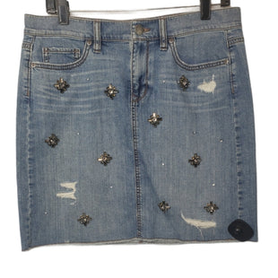Primary Photo - BRAND: ANN TAYLOR LOFT STYLE: SKIRT COLOR: DENIM SIZE: 6 SKU: 299-29950-12102