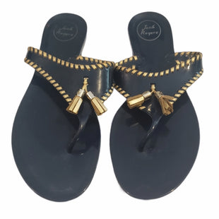 Primary Photo - BRAND: JACK ROGERS STYLE: SANDALS LOW COLOR: NAVY SIZE: 11 SKU: 299-29987-727