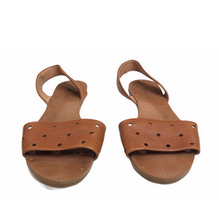 Primary Photo - BRAND: MADEWELL STYLE: SANDALS FLAT COLOR: TAN SIZE: 7.5 SKU: 299-29929-55407
